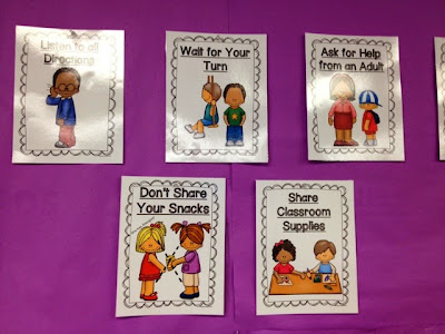 Kindergarten classroom behavior