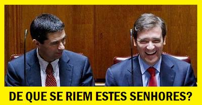 De que se riem Passos Coelho e Vítor Gaspar?