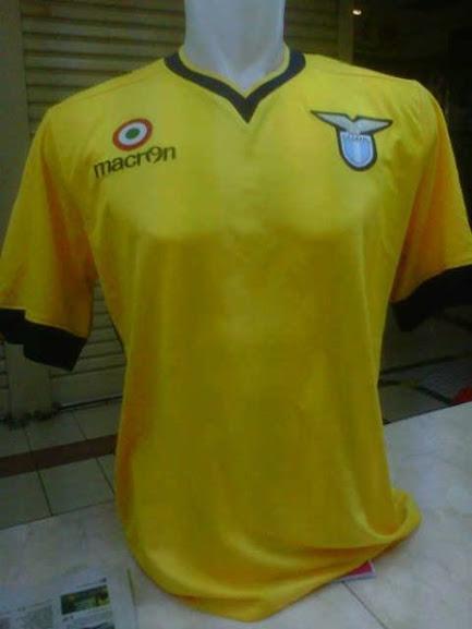 Jual Jersey Lazio Away 2014 Warna Kuning