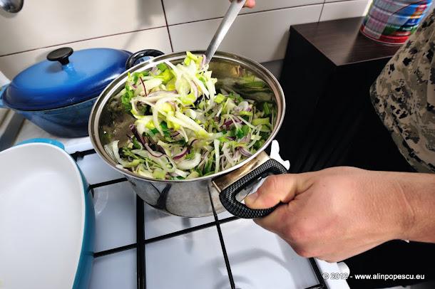 Razvan Anton - preparare supa de ceapa