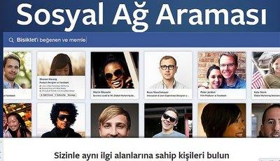 facebook sosyal ağ araması nedir