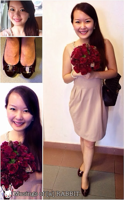 Bouquet Ferragamo Pink Dress