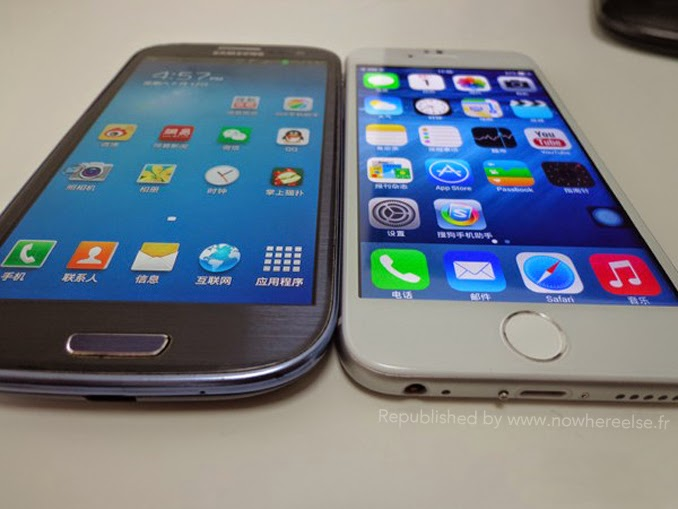 S3 vs iPhone 6