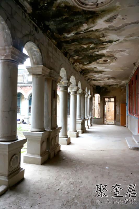 聚奎居 隱藏台中烏日的巴洛克式宅院聚奎居,取景拍照這裡可是小熱門~聚奎居真的不是鬼屋!