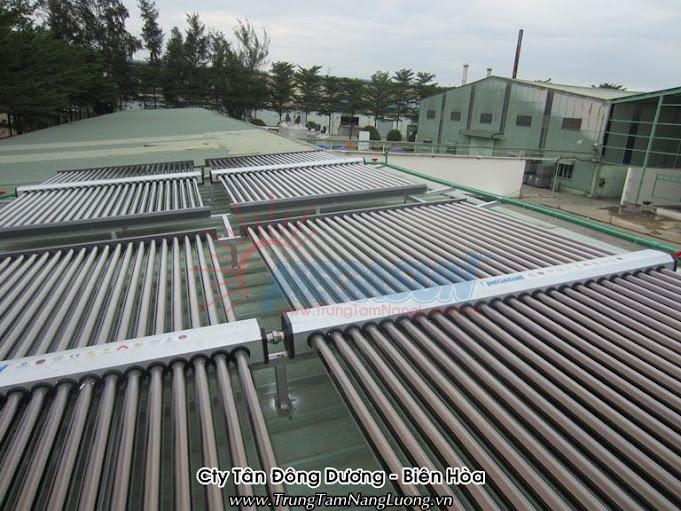 Hệ thống máy nước nóng tại Công ty Tân Đông Dương - Biên Hòa, Đồng Nai
