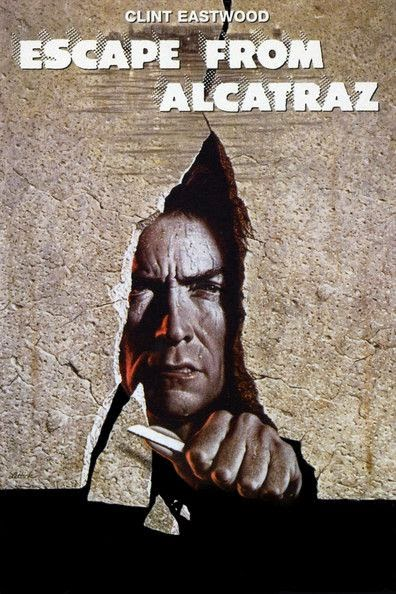 Poster Of Escape from Alcatraz (1979) Full Movie Hindi Dubbed Free Download Watch Online At Alldownloads4u.Com