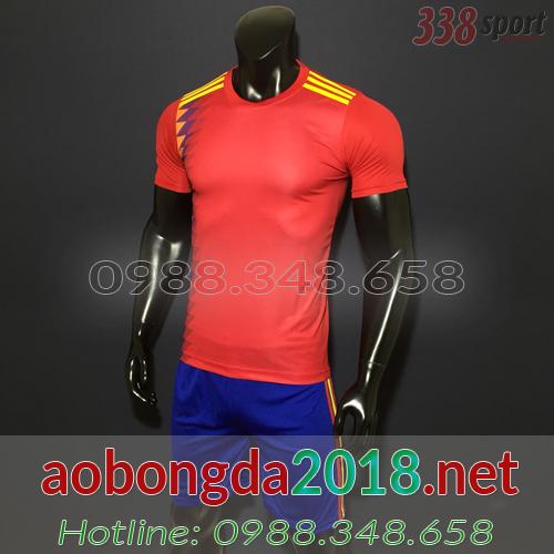 áo tây ban nha đỏ wordcup 2018