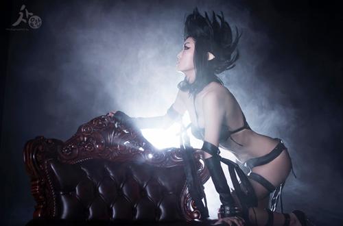 Ngắm cosplay Evelynn Bóng Đêm cực quyến rũ - Ảnh 5
