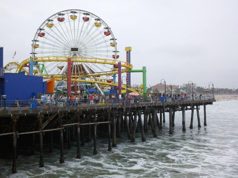 Santa Monica - Long Beach - Santa Monica • Santa Monica Pier