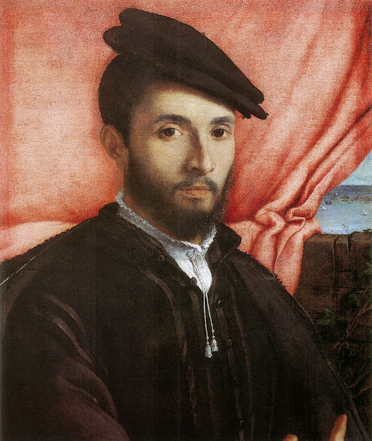 Lorenzo Lotto - Portrait of a Young Man (1526)