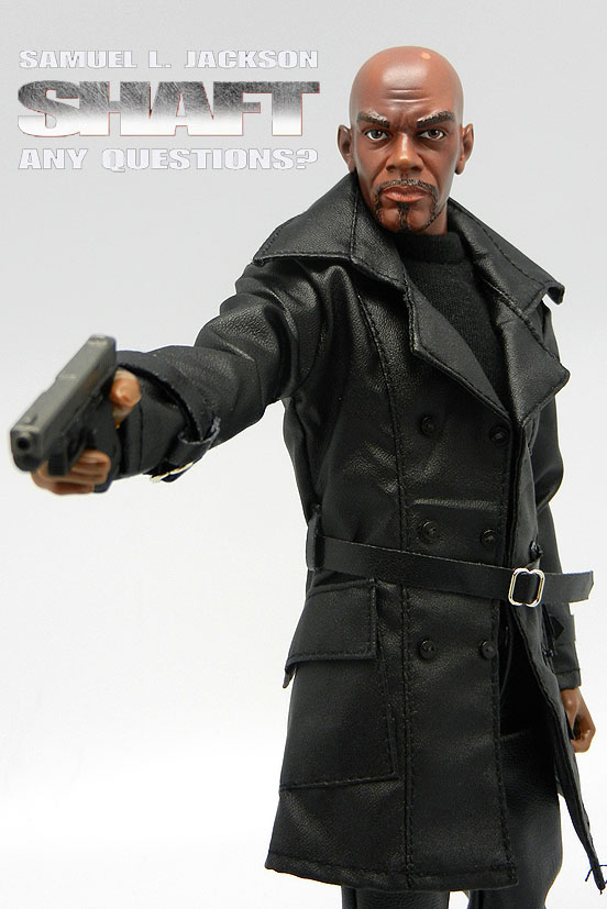 Samuel L Jackson as John Shaft