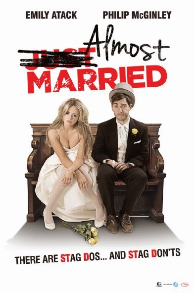 Poster Of English Movie Almost Married (2014) Free Download Full New Hollywood Movie Watch Online At Alldownloads4u.Com