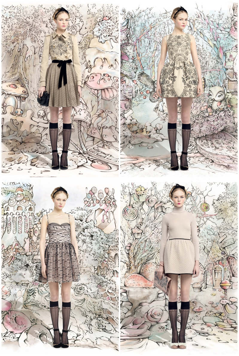 RED VALENTINO Fall 2013  Ready-To-Wear
