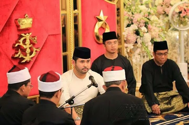 Tahniah Buat Tengku Mahkota Johor Dan Isteri