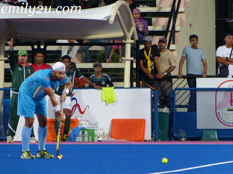 2012 Sultan Azlan Shah Cup - Match 17 - India vs. Pakistan