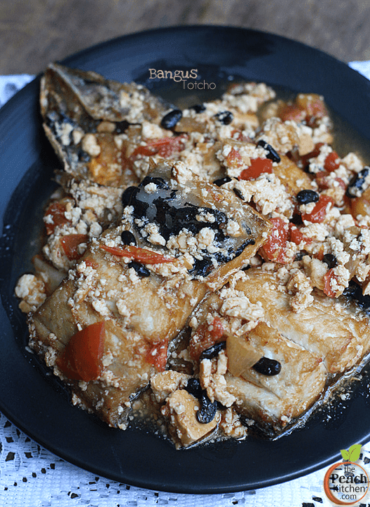 Bangus En Totcho (Milkfish in Fermented Tofu)