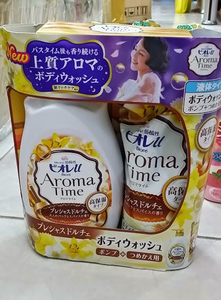 Sữa tắm Aroma Time hương hoa