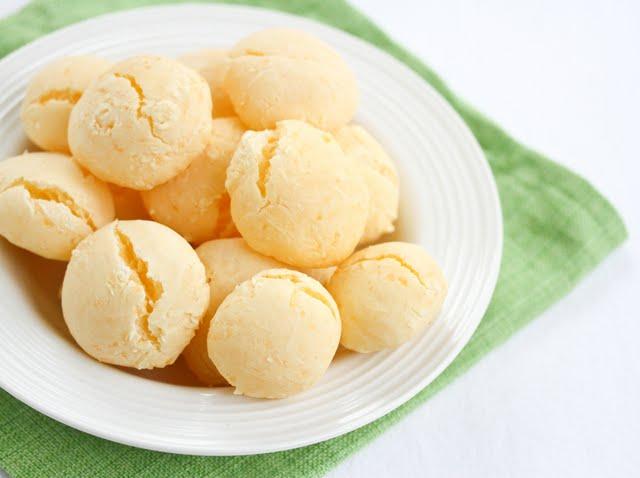 close-up photo of Brazilian Cheese Breads