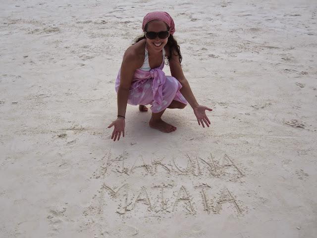 It means no worries! From Through the eyes of an educator: Zanzibar, Tanzania