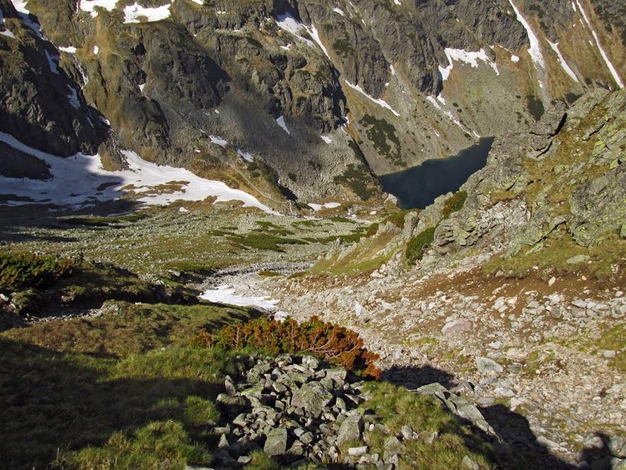 Podejście na Żółtą Przełęcz od Czarnego Stawu Gąsienicowego