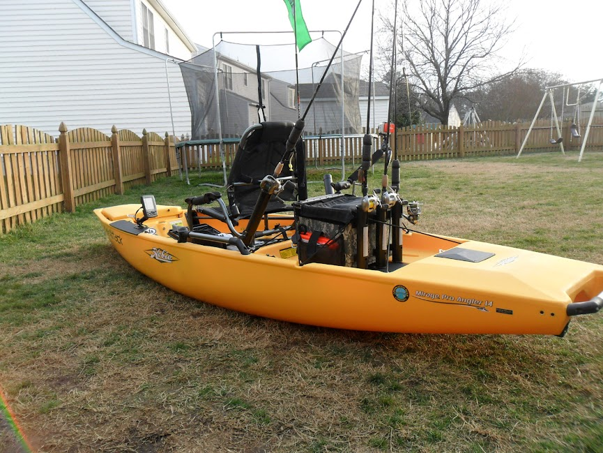 fishing kayak setup images galleries