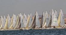 International J/80 one-design sailboats- sailing Worlds