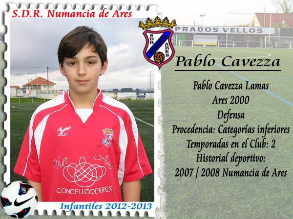 ADR Numancia de Ares. Pablo Cavezza.