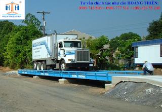 cân xe tải bê tông 6m, cân ô tô chất lượng 16m