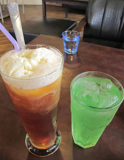 水母紅茶/青蘋蘇打-LV5.5 新人類樂園海賊王主題餐廳