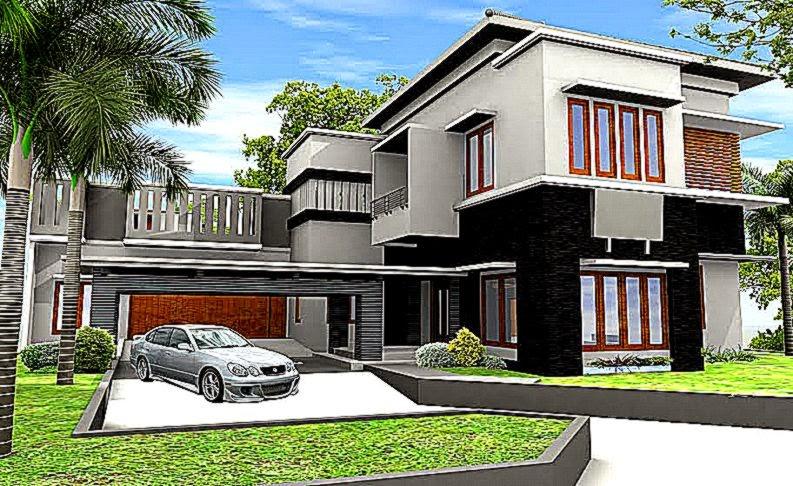 Desain Arsitektur Rumah Minimalis   Gallery Taman Minimalis