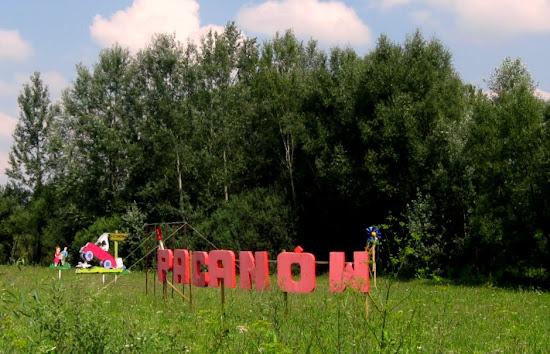 wjazd do Pacanowa