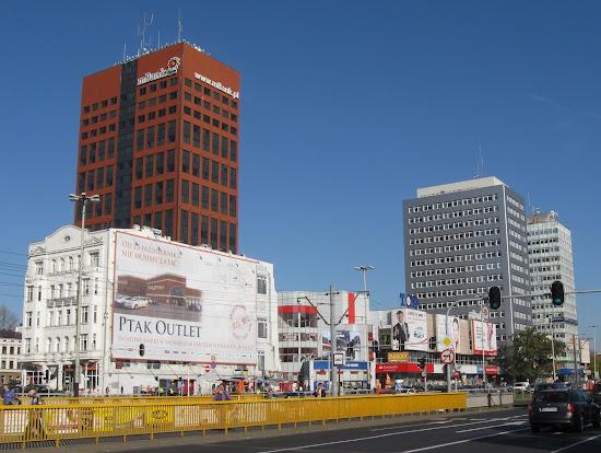 Łódź - główna ulica przypominająca Warszawę