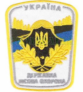 ДЛО Україна/тк.біла/нарукавна емблема