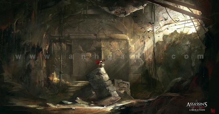 Hình nguyên họa cực chất của Assassin Creed III - Ảnh 11