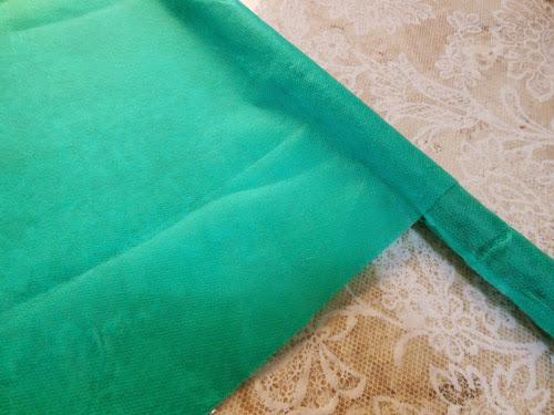 Como fazer bandeira com cabo de vassoura