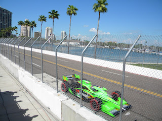 Danica Patrick #7 at Honda Grand Prix of St. Petersburg