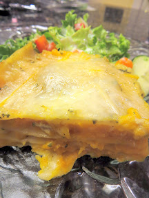 Giada's vegetarian Thanksgiving side recipe for Butternut Squash Lasagna in Béchamel sauce