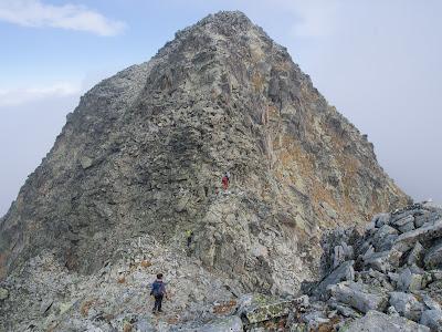 Grimpada final cap a la Punta Alta