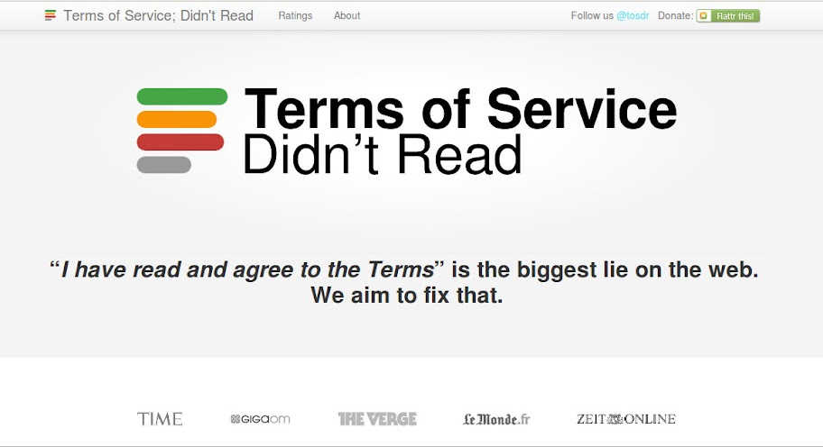 Terms of Service - Didn't Read