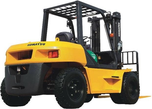 Xe nâng diesel Komatsu 6 7 8 tấn