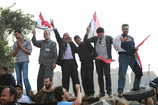 Egyptian Revolution شريف الحكيم Tanksoccupy