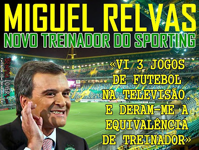 Novo treinador do Sporting