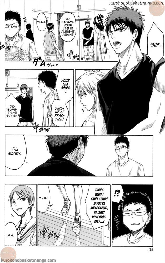 Kuroko no Basket Manga Chapter 54 - Image 10