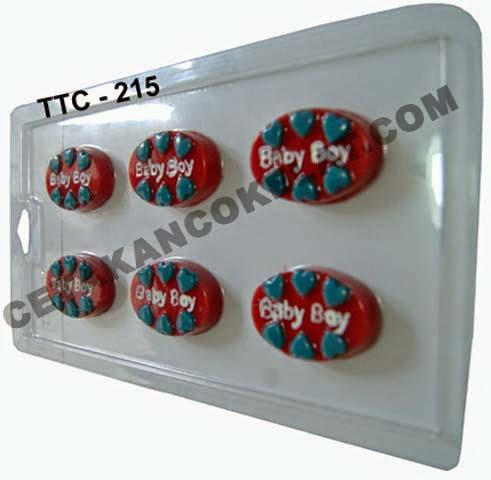 Cetakan coklat baby boy TTC215