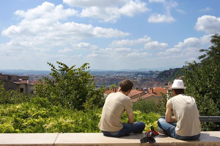 Лион достопримечательности: холм Croix-Rousse