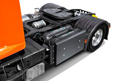 Iveco Stralis Natural Power EURO VI. Zbiorniki CNG