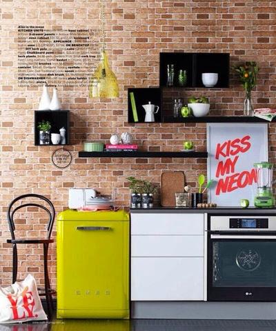 Cozinhas muito pequenas - algumas ideias