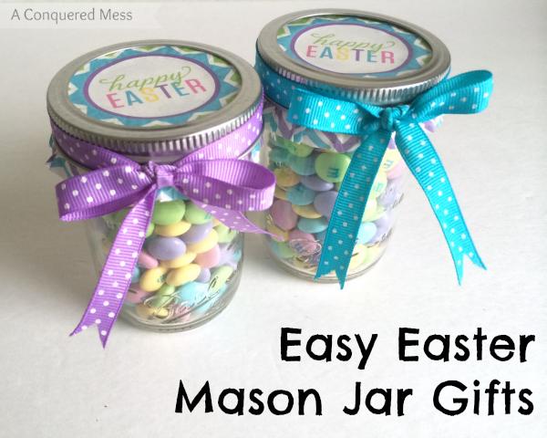 Mason jar easter gifts craftbnb mason jar easter gifts negle Images