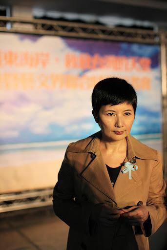 李烈2011年出席守護東海岸記者會的資料畫面。陳錦桐攝。