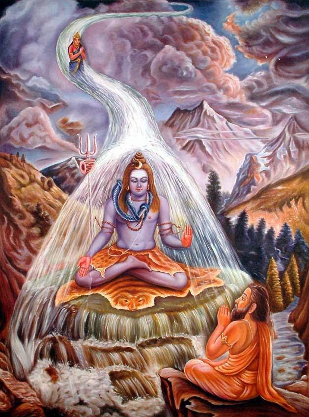 Birth Of River Ganga - Sri Ramanin Padhayil